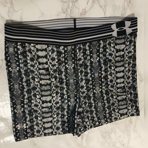 Under Armour Heat Gear Compression Shorts - size M